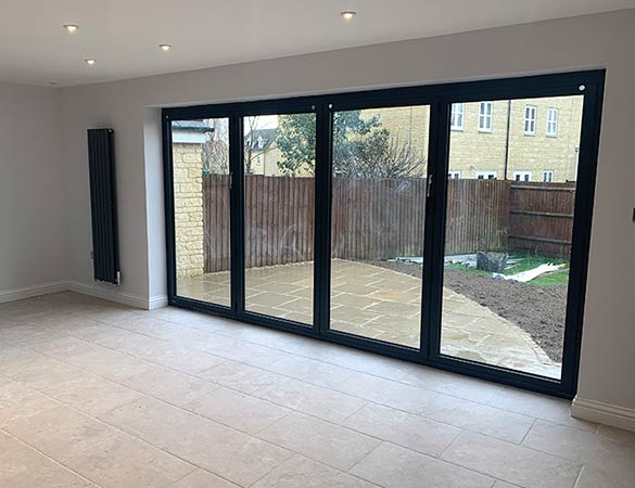Bi-fold doors fitted in Oxfordshire