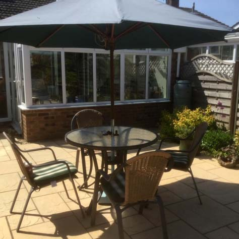 Conservatory and patio Carterton Oxfordshire