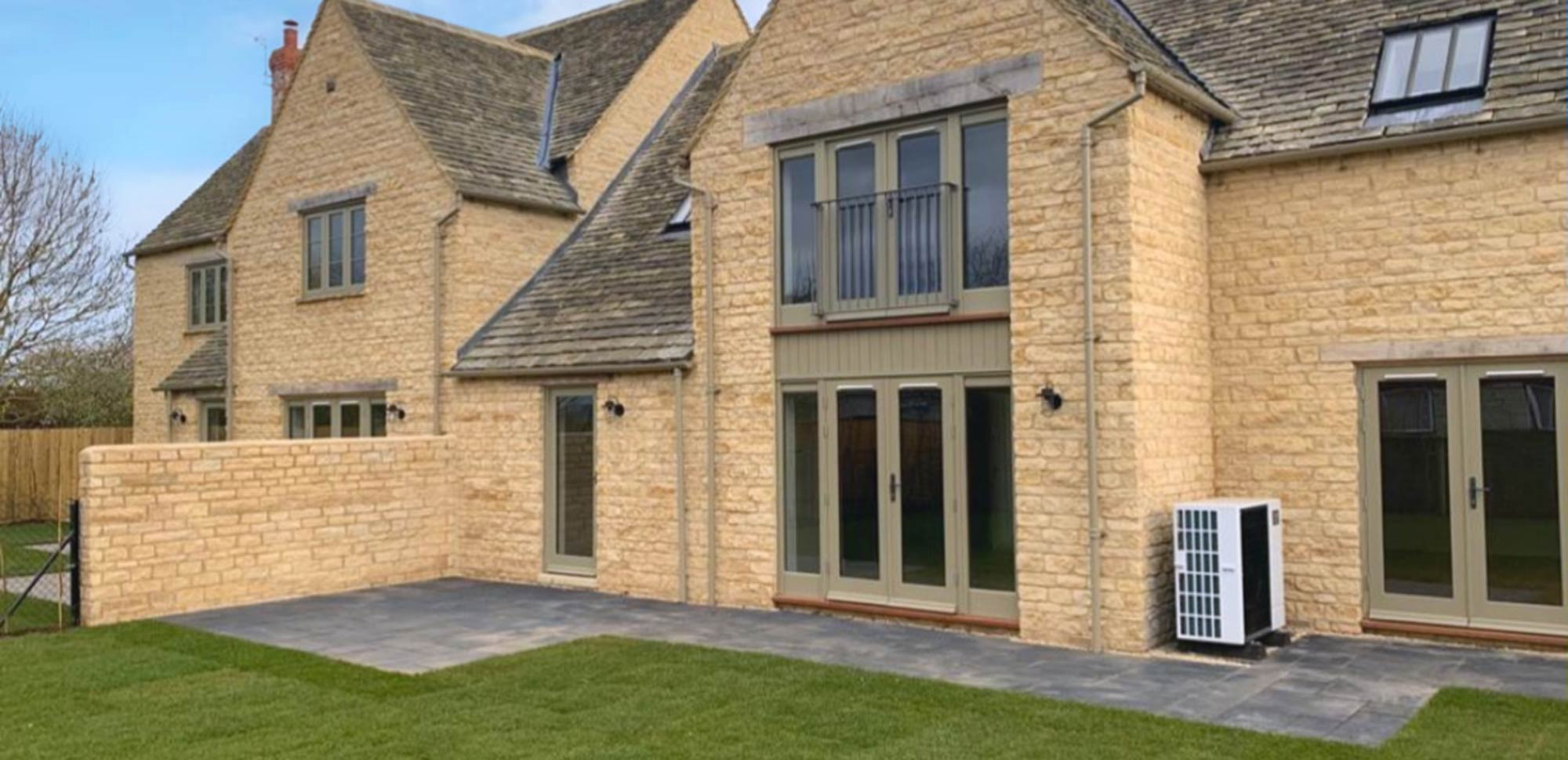 Cotswold private house, new build