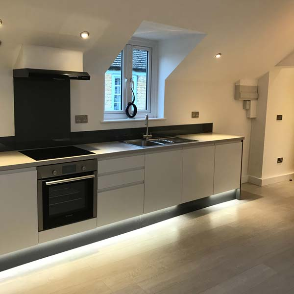 Kitchen a new build Witney in Oxfordshire