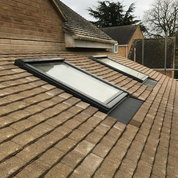 Roof and sky light build in Witney